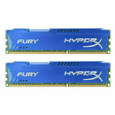 Desktop New FOR HyperX  16GB 2X8GB 1600MHz DDR3 PC3-12800 CL11 240-Pin Memory ●