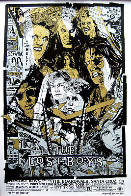 American Horror Film The Lost Boys Movie Vintage New Print Poster 36 27x40 P-38