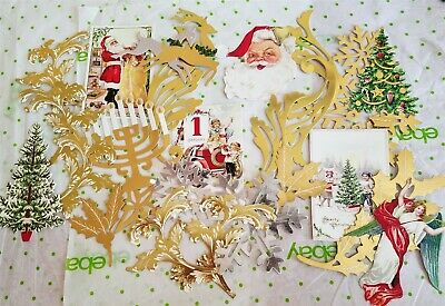 Anna Griffin Glorious Greeting Christmas Card 2D Embellishments Pinwheels 25 pcs