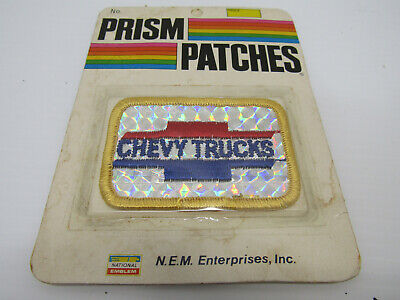 Nib Old Vintage Chevy Truck Prism Service Station Patch Appereal Accessories