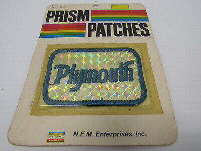 Nib Old Vintage Plymouth Prism Service Station Patch Appereal Accessories
