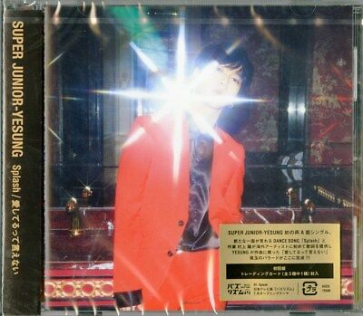 Super Junior-Yesung-Splash / Aishiteru Tte Ienai-Japan Cd B43