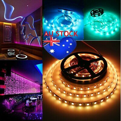 5/10/50M SMD 5050 3528 5630 IP65 12V White RGB LED Flexible Strip Light AU Stock
