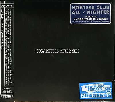 Cigarettes After Sex-S/T-Japan Cd Bonus Track F30