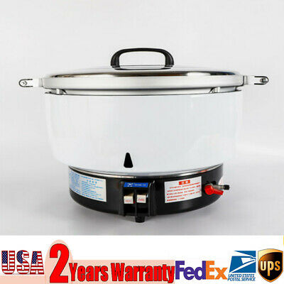 Commercial 50 Cups Pressure Rice Cooker 8KW Nature Gas Rice cooker Cook quickly