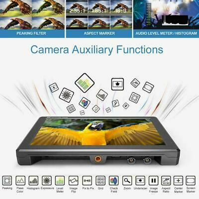 LILLIPUT A8S 8.9In IPS Screen 4K Full HD Monitor Camera Monitor for DSLR Cameras