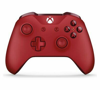 Official Xbox One Wireless Controller 3.5mm - Red NEW_UK