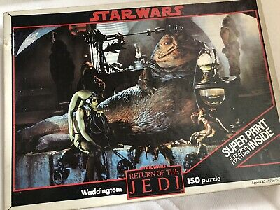 Waddingtons - Star Wars - Return Of The Jedi 150 Piece Jigsaw Puzzle With Poster