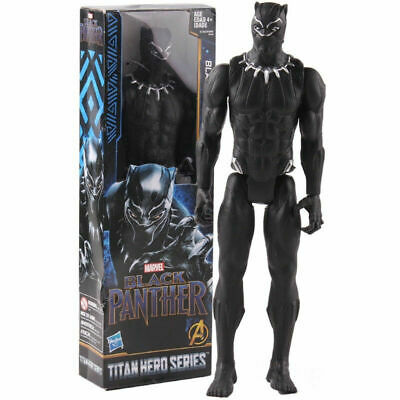 "12"" Black Panther EndGmae Figure Super Hero Avengers Infinity War Toy UK Stock"