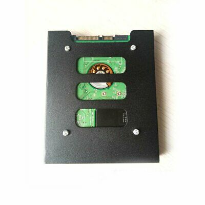"""2.5"""" to 3.5"""" SSD to HDD Metal Mounting Adapter Bracket Dock Hard Drive Holder TS"""