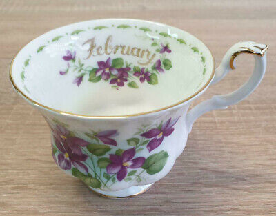 Royal Albert Flower of the Month February Violets