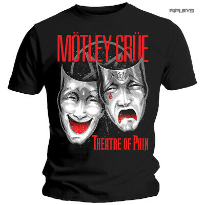 Official Metal T Shirt MOTLEY CRUE The Dirt 'Theatre Of Pain Cry' All Sizes