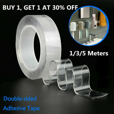 Multifunctional Double-Sided Adhesive Tape Traceless Washable Removable Tapes M