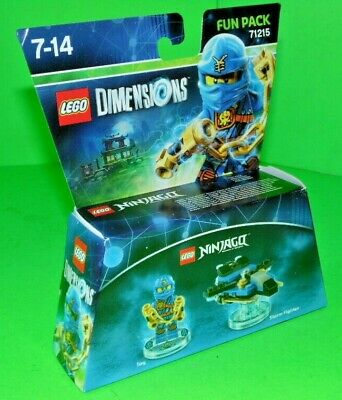 Lego Dimensions - 71215 - Fun Pack - Jay - Ninjago..MIB .## FREE UK POST ##