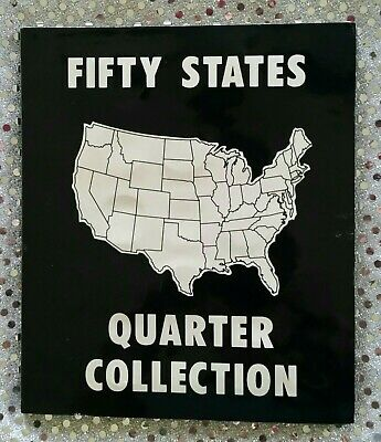 1999-2008 FIFTY 50 STATE QUARTER COLLECTION - Complete in Collectors Book