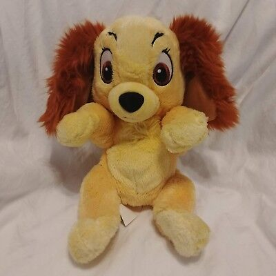 Disney Parks Lady And The Tramp Disney Babies Soft Plush 12""