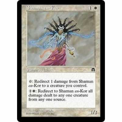 Excellent MTG STRONGHOLD Condition Sacred Ground