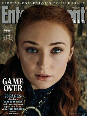 Entertainment Weekly March 15/22 2019 Game of Thrones - #5 Sansa Stark