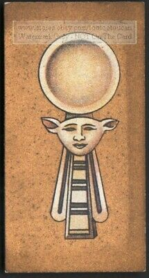 Ancient Egyptian Spoon Eating Utensils 1920s Ad Trade Card