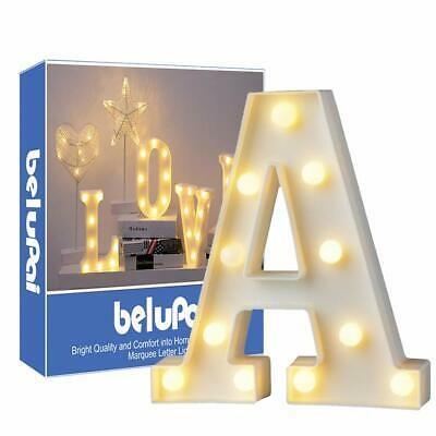 Letras Led Letras Luminosas Decorativas Letras Alphabet Light Luces De Espejo