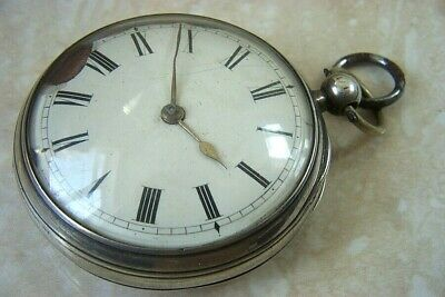 A SILVER FUSEE POCKET WATCH MOVEMENT BY PARKINSON & FRODSHAM c.1906 FOR REPAIR