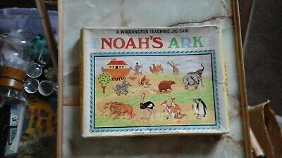 VTG NEW 1889 Giant Noahs Ark Floor Puzzle 26x26 by Lilian Vernon 1989 Year Puzzles & Geduldspiele