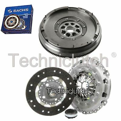 Ecoclutch 3 Part Clutch Kit And Sachs Dmf For Peugeot 508 Saloon 2.0 Hdi