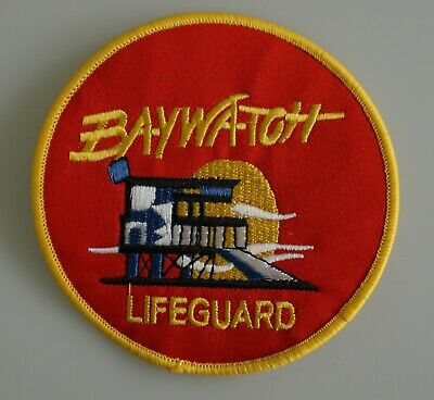 Baywatch - Lifeguard - TV Serie original gestickter Patch Aufnäher - neu