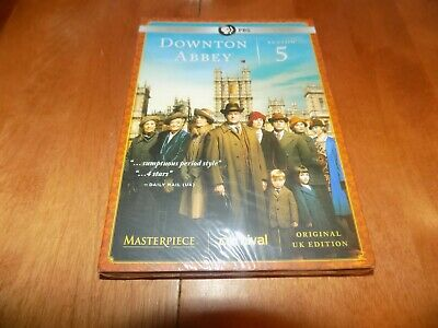 DOWNTON ABBEY SEASON 5 Five PBS TV Television Classic Series DVD SEALED NEW
