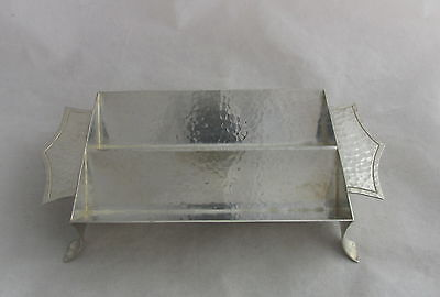 Old Arts&Crafts Marshall Field&Co Sterling Colonial Double Row Sugar Cube Tray