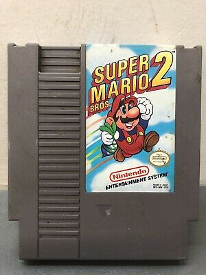 Super Mario Bros. 2 (1988 Nintendo NES) Game Only Tested Works