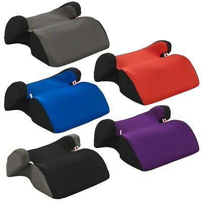 Techno Booster Seats Car Travel Safety Comfort Group 2-3 Holds 15-36kg 5 Colours