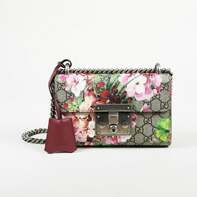 b6ae3fee13b3 Gucci GG Blooms Coated Canvas Small