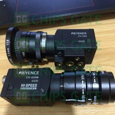 1PCS Used KEYENCE CV-020 CCD CAMERA FOR VISION SYSTEM Tested Fast Ship