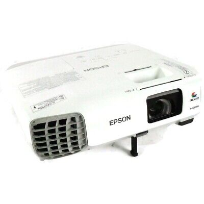 Epson PowerLite 965 H384A 3LCD HDMI Projector 246 Lamp Hours *No Remote