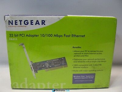 NETGEAR FA312 FAST ETHERNET ADAPTER DRIVER PC
