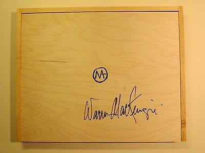 Warren Mackenzie Hand Signed Legacy Of An American Potter W Signed Wooden Box