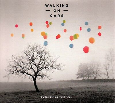 WALKING ON CARS - Everything This Way - CD Album *Digipak*