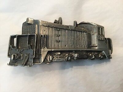 Vintage 1980 Great American Buckle Co. #273 limited edition TRAIN Engine