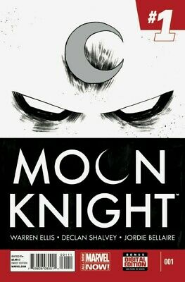 Moon Knight #1 (NM)`14 Ellis/ Shalvey  (1st Print)