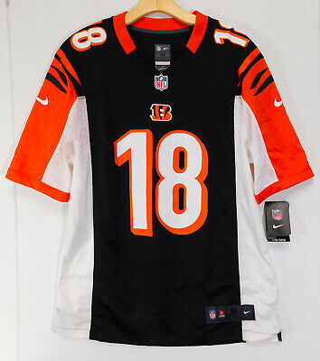 Cheap NEW A.J. GREEN #18 Cincinnati Bengals Mens Game OnField Jersey White  for cheap