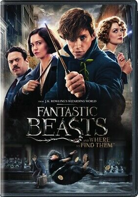 FANTASTIC BEASTS AND WHERE TO FIND THEM New Sealed DVD 2 Disc Edition