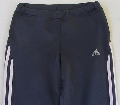 Adidas Girl's Stretch Clima Lite Athletic Pants - Dark Gray - No Tag/Small?