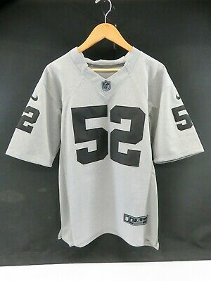 Nice KHALIL MACK OAKLAND Raiders Gridiron Gray Limited Football Jersey  for sale