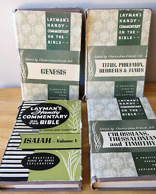 LOT BIBLE STUDY books The Layman's Bible Commentary Genesis