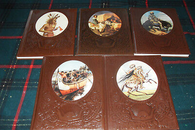 TIME LIFE BOOKS THE OLD WEST LOT OF 5 BOOKS EXCELLENT CONDITION Free s/h Canada