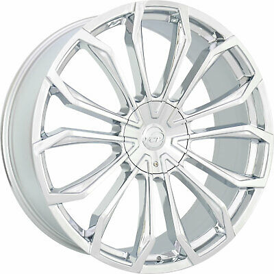 20 X8 5 Inch Chrome Vct 83 Wheels Rims Fits Cadillac Ats Sts Dts Cts