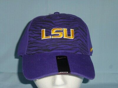 online retailer 2d18f be8b6 LSU TIGERS Heritage 86 NIKE Adjustable CAP HAT One size Fits Most NWT  26  retail
