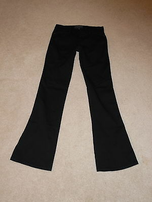 Sanctuary Black Mid Rise Bootcut Stretch Pants Size 26