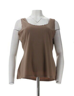 Spanx Trust Your Thinstincts Tank Top Mineral Taupe XL NEW A288810
